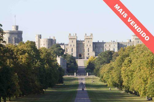 Dusk at Windsor Castle