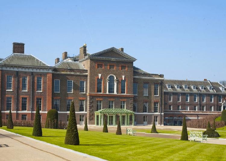 Palácio de Kensington e Castelo de Windsor